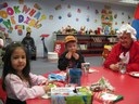 Gotta love Mrs. Claus making time for us at such a busy time of year.