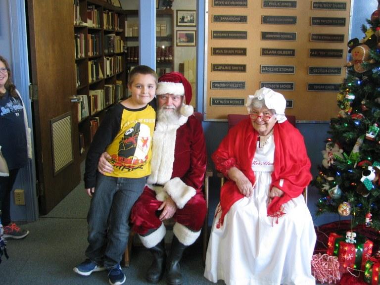 Brandon is letting Santa in on his list