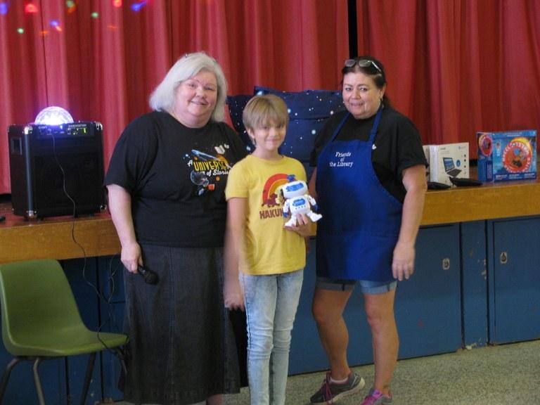 Zaree won the Disco Robot