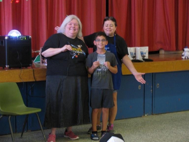 Tre won $50 visa gift card