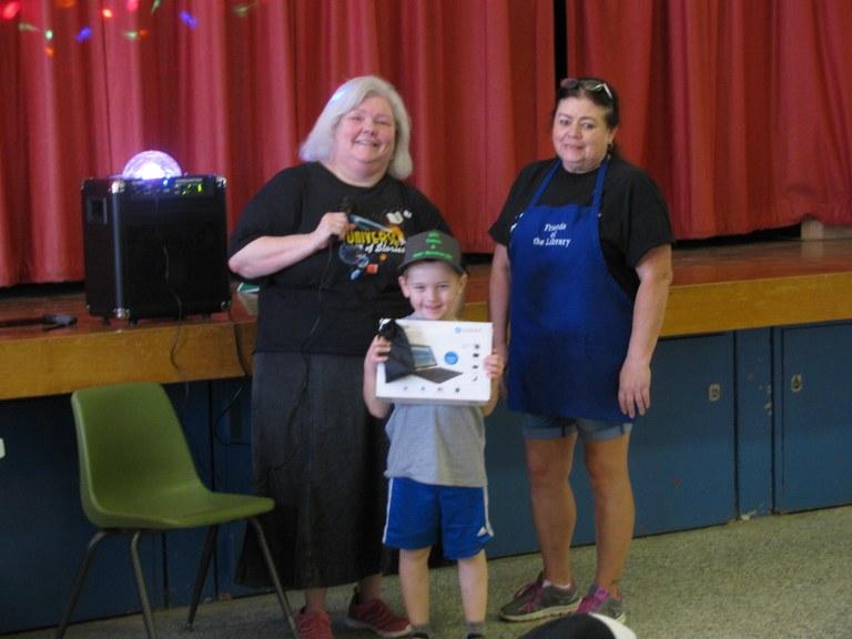 Easton won tablet w/pocket mouse