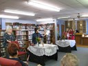 Janis Blackwell reading from her book.JPG