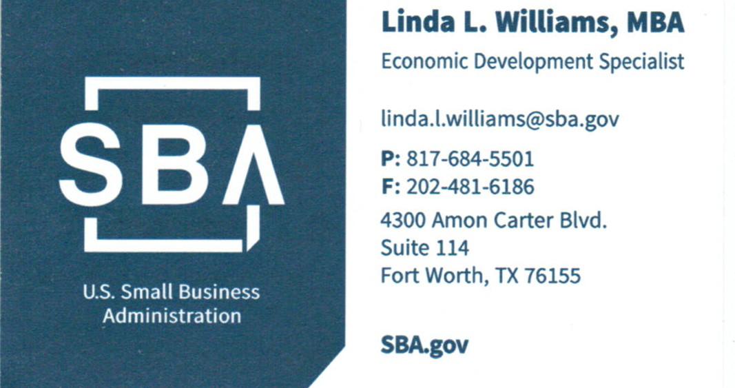 S.B.A. CARD